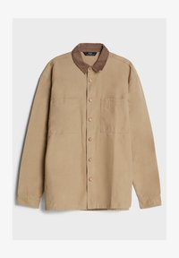 Bershka - AUS CORD - Shirt - beige - 4