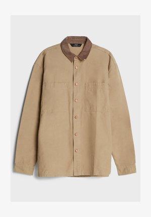 AUS CORD - Shirt - beige