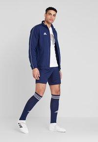 adidas Performance - CORE 18 - Training jacket - dark blue/white - 1