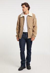 DreiMaster - Light jacket - beige melange - 1