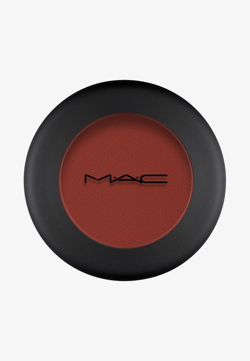 MAC - POWDER KISS EYESHADOW SMALL EYESHADOW - Eye shadow - devoted to chili