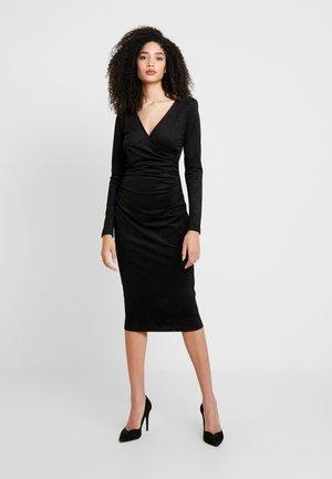 GINETTE DRESS - Shift dress - jet black