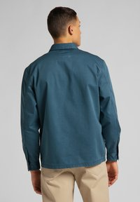Lee - BOX POCKET - Shirt - teal - 2