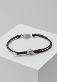 Fossil - Armbånd - silver-coloured/braun - 2