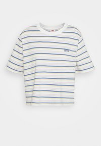 Levi's® - BOXY TEE - T-shirt con stampa - off-white/purple - 4