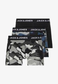 Jack & Jones - JACARMY TRUNKS 3 PACK  - Shorty - black/grey melange/navy blazer - 3
