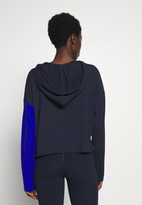 DKNY Intimates - CROP HOODIE - Pyjama top - dark blue - 2