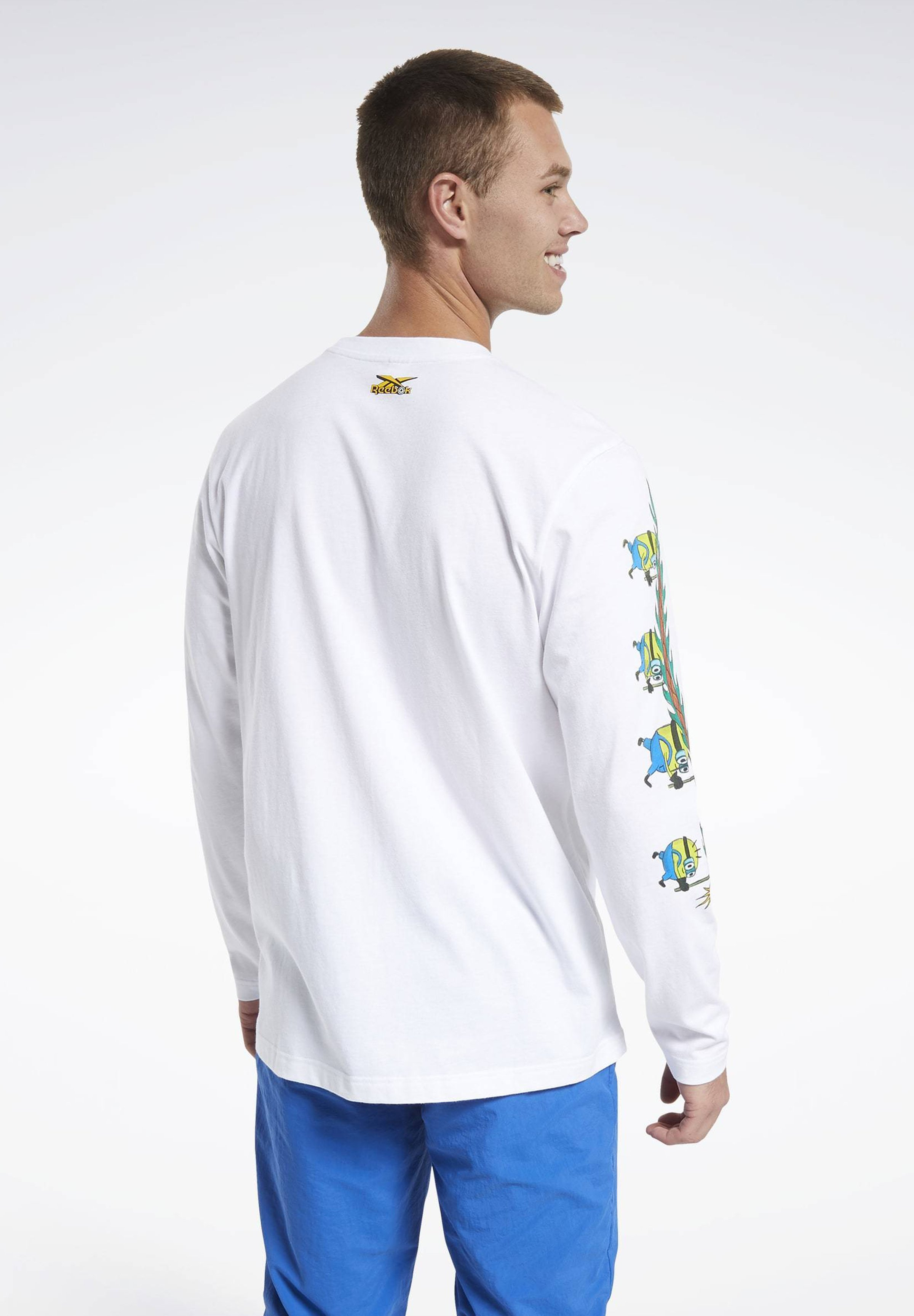 Reebok Classic MINION CHINESE NEW YEAR LONG-SLEEVE TOP - Long sleeved top - white GkiDY