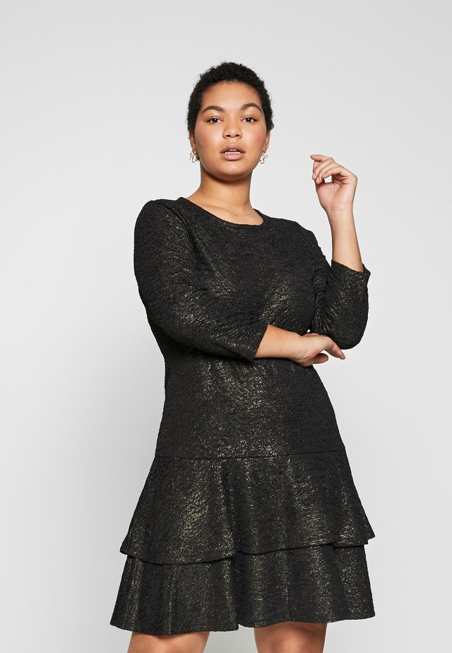 Sukienka koktajlowa - black/gold