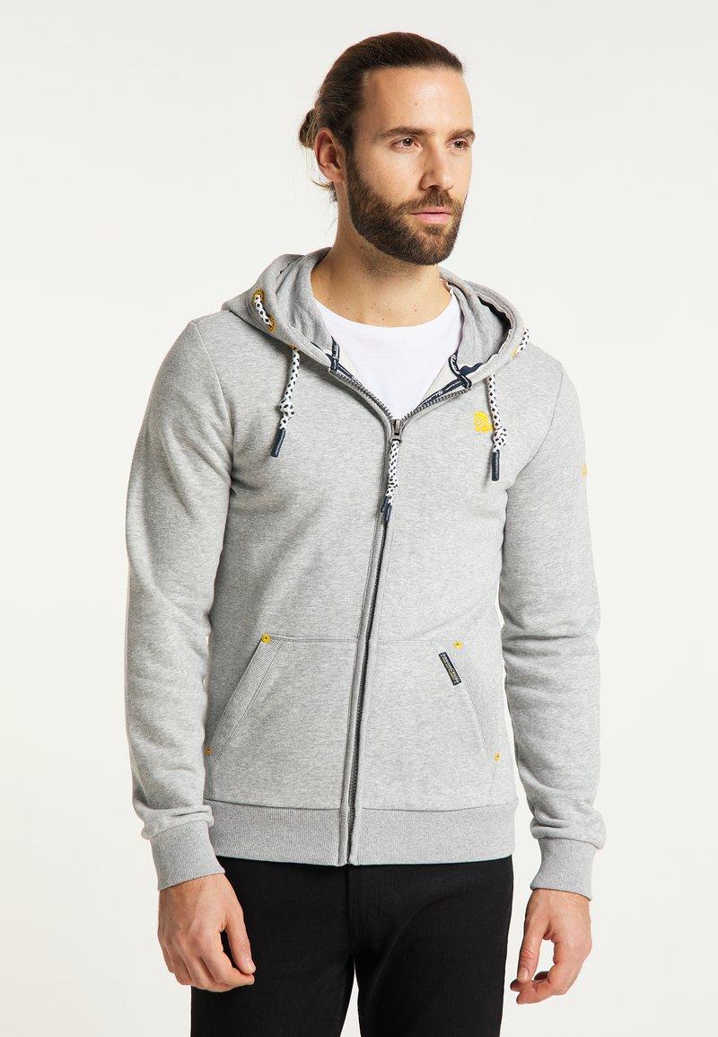 Schmuddelwedda - Zip-up hoodie - hellgrau melange