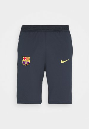 FC BARCELONA SHORT - Sports shorts - dark obsidian/amarillo