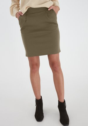 KATE  - Pencil skirt - kalamata