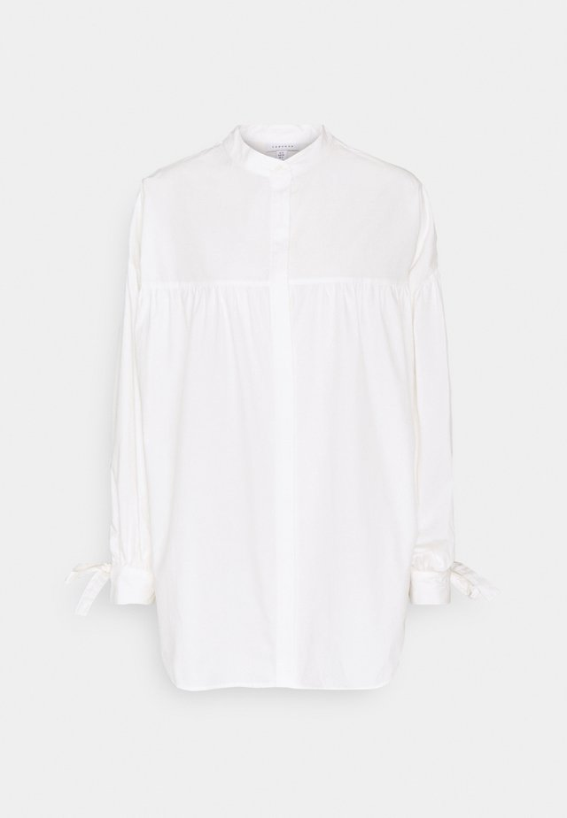 OVERSIZED BABYDOLL - Blouse - white