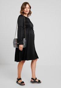 IVY & OAK Maternity - TUNIC DRESS - Vestito estivo - black - 1