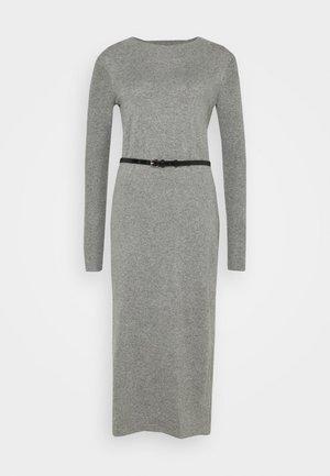 DRESS - Pletené šaty - gunmetal