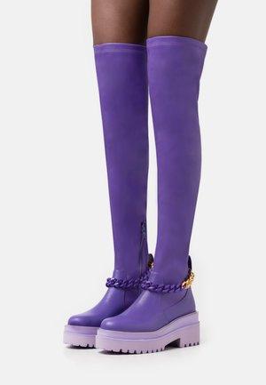 LEONIE HANNE - Zābaki pāri celim - violet