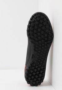 adidas Performance - PREDATOR 20.4 TF - Astro turf trainers - core black/active red - 5