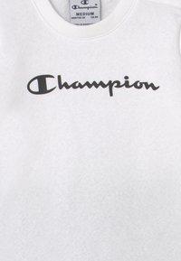 Champion - AMERICAN CLASSICS SET UNISEX - Tracksuit - white - 3