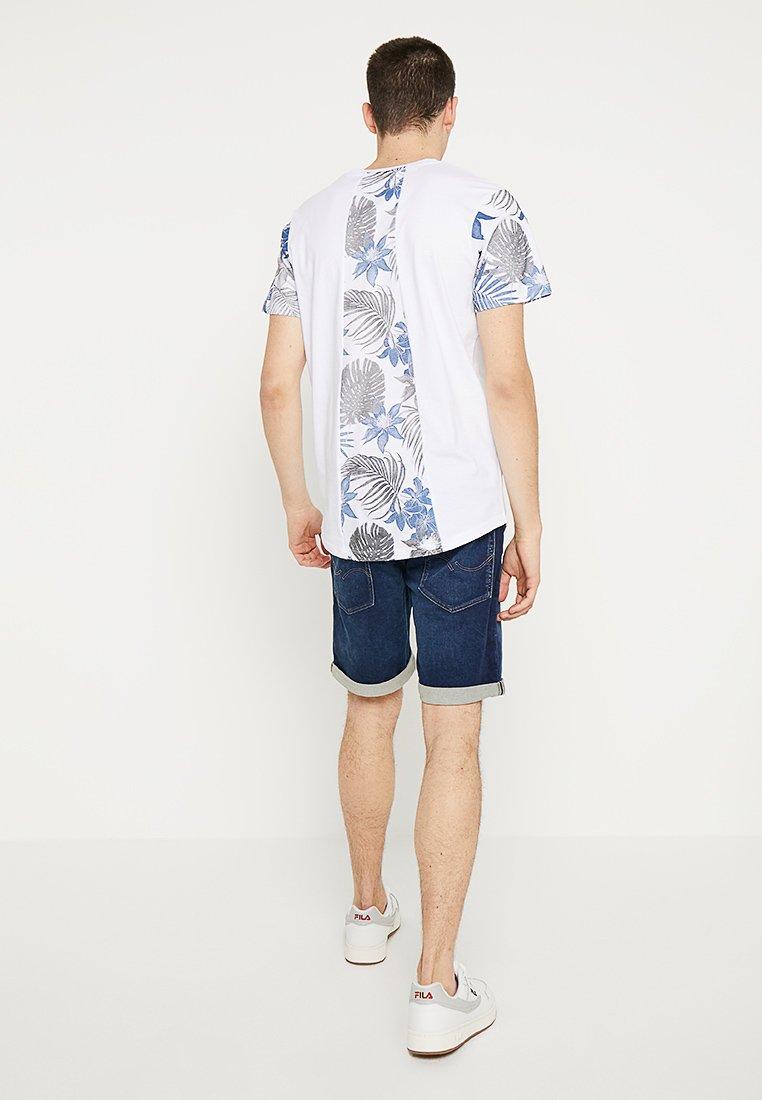 JJIRICK JJICON Shorts vaqueros blue denim