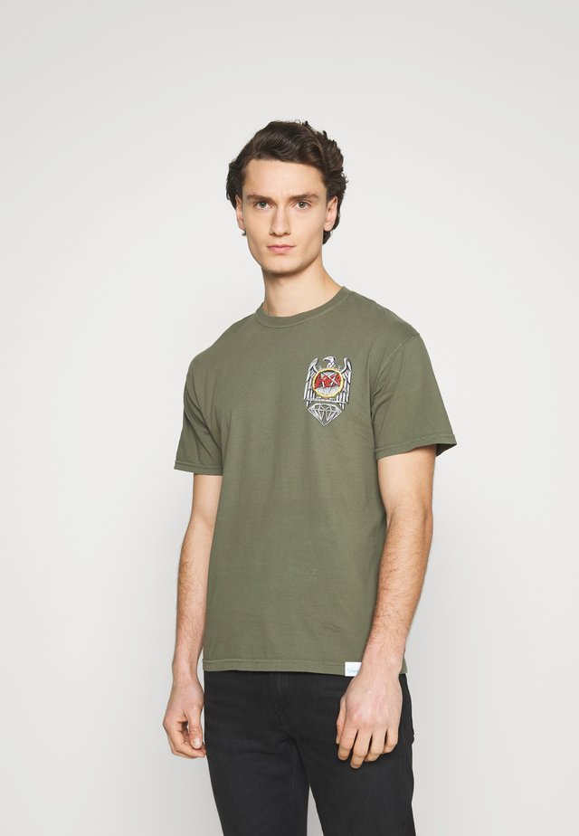 BRILLIANT ABYSS TEE - T-shirt print - sag