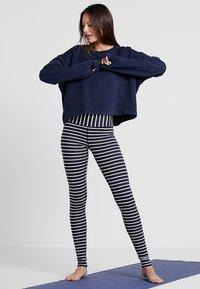 Hey Honey - LEGGINGS BARRE STRIPES - Legging - dark blue - 1