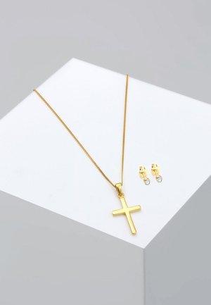 2 PACK - Earrings - gold coloured