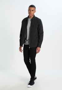 Lee - LUKE - Jeansy Slim Fit - clean black - 1