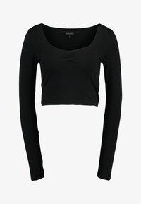 Even&Odd - LANGARMSHIRT BASIC - Langarmshirt - black - 3