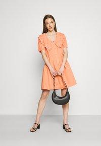 YAS - YASSOFFE DRESS  - Shirt dress - sandstone - 1