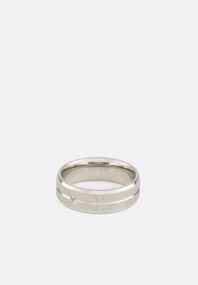 BRUSHED  - Sormus - silver-coloured