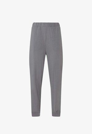 LINEN CUFFED - Pantalon de survêtement - grey
