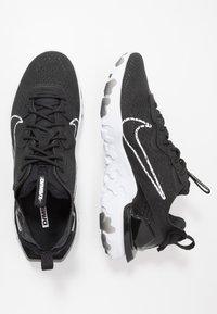 Nike Sportswear - REACT VISION  - Sneakers - black/white - 1