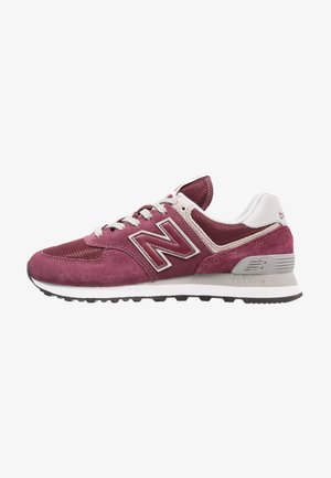 Trainers - burgundy