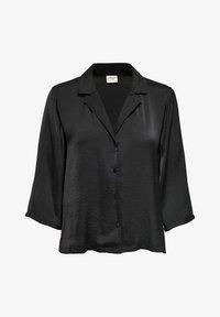 JDY - Button-down blouse - black - 4