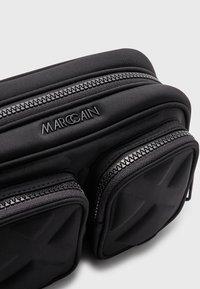 Marc Cain - SHOULDER BAG - Across body bag - black - 3