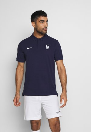 FRANKREICH FFF - Polo shirt - blackened blue/white