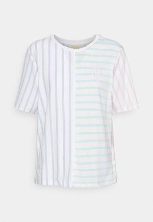 ICON RELAXED TOP - Print T-shirt - multi brenton stripe