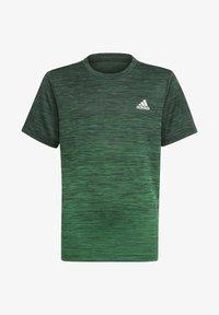 adidas Performance - AEROREADY GRADIENT T-SHIRT - Sports shirt - black - 0