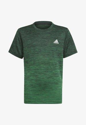 AEROREADY GRADIENT T-SHIRT - Sports shirt - black