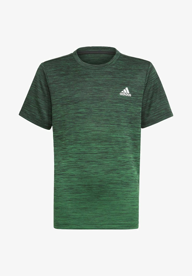 adidas Performance - AEROREADY GRADIENT T-SHIRT - Sports shirt - black