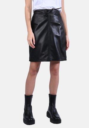 CELIA - Mini skirt - black