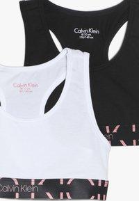 Calvin Klein Underwear - BRALETTE 2 PACK - Korzet - white - 4