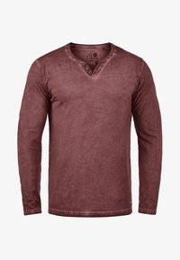 Solid - TINOX - Long sleeved top - wine red - 3