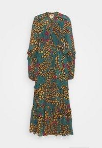 Farm Rio - TEAL BANANA MAXI DRESS - Maxi dress - multi - 4