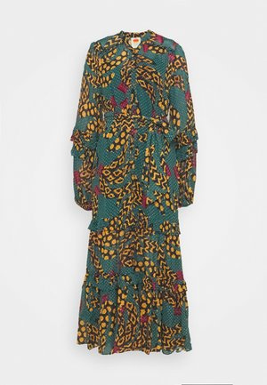 TEAL BANANA MAXI DRESS - Maxi-jurk - multi