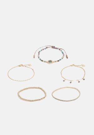 KAOASEN 5 PACK - Bracelet - gold-coloured