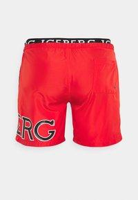 Iceberg - MEDIUM - Swimming shorts - red - 1
