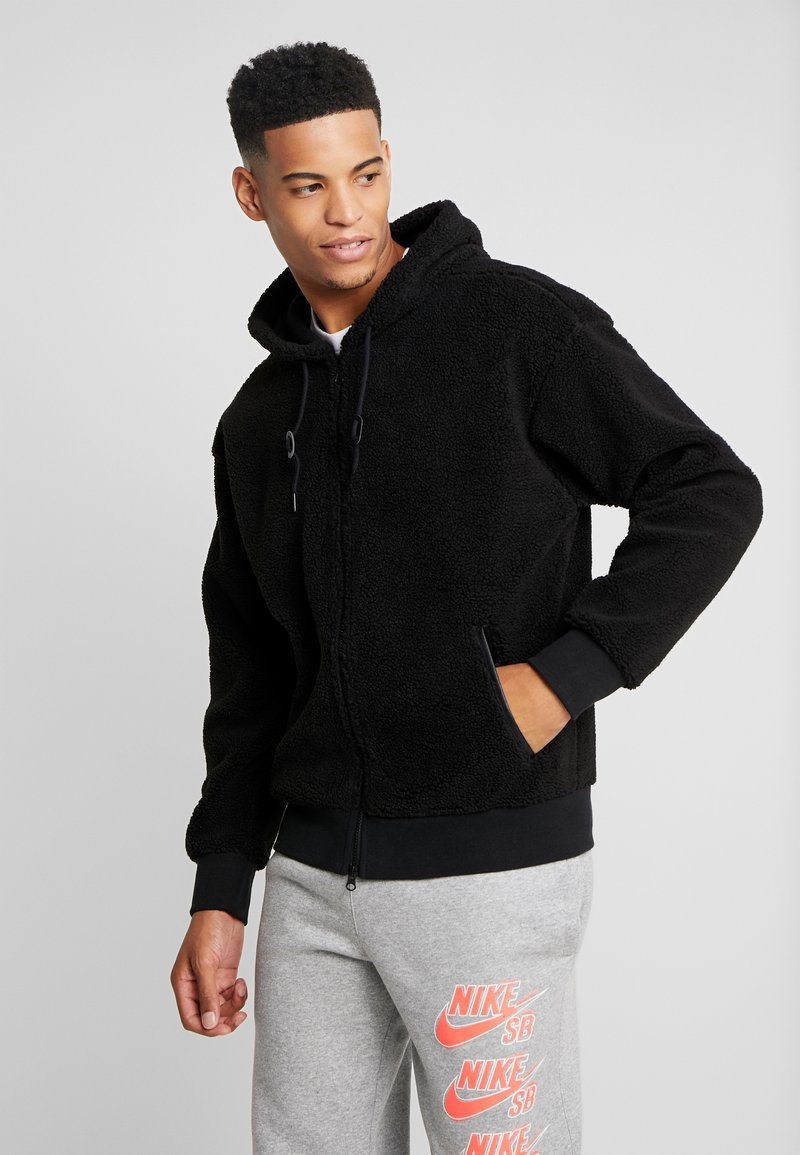Nike SB - SHERPA  - Fleecejakker - black/black
