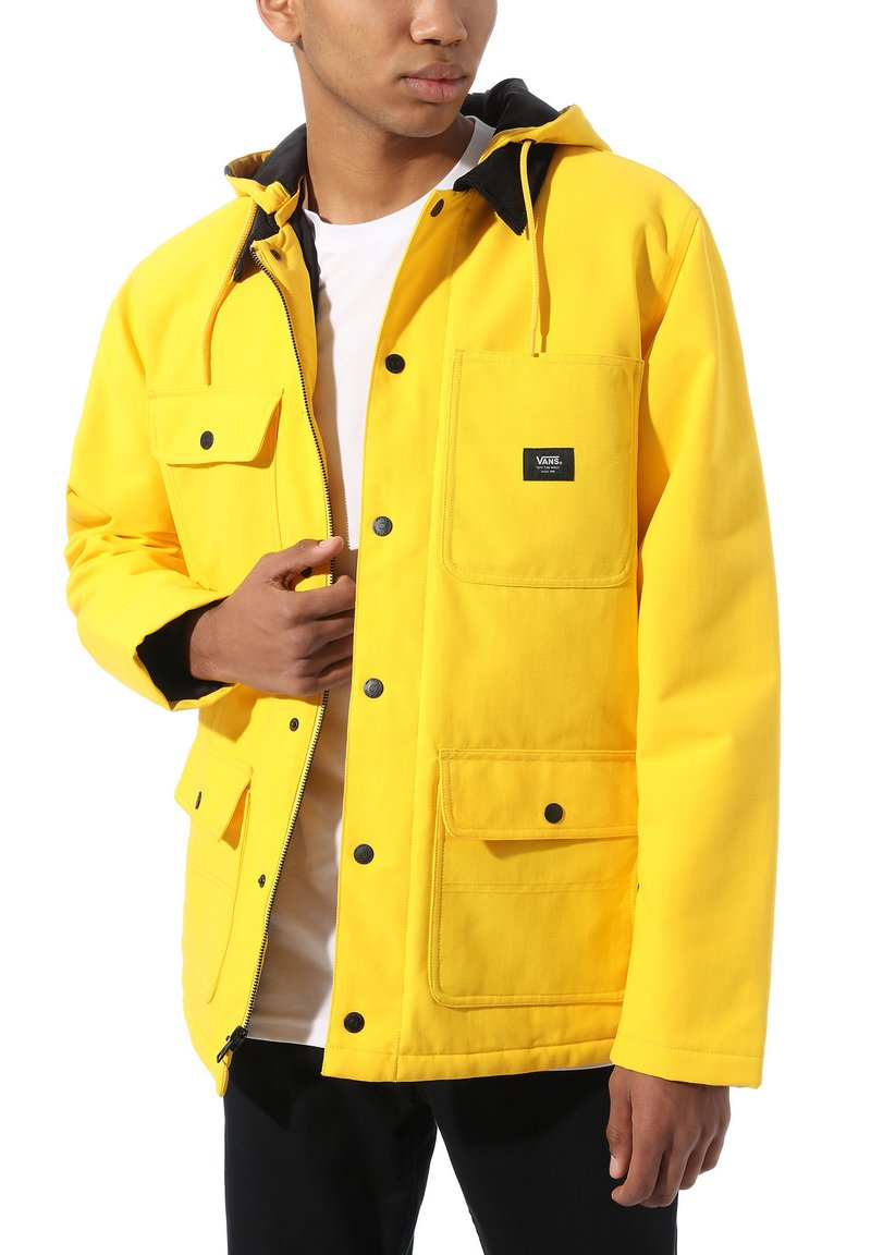 Vans - DRILL CHORE COAT - Übergangsjacke - lemon chrome