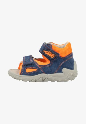 Trekkingsandale - blue/Orange